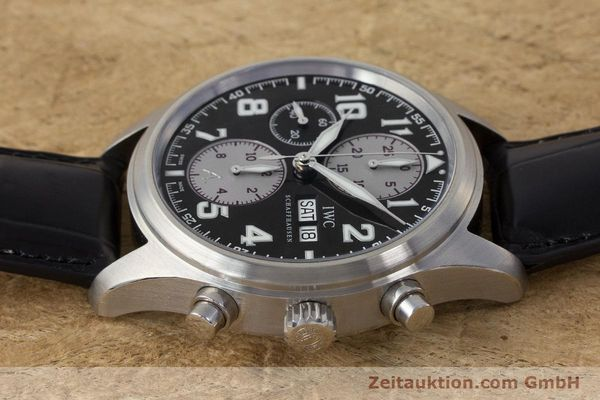 Used luxury watch IWC Fliegeruhr chronograph steel automatic Kal. 79320 Ref. 3717 LIMITED EDITION | 161759 05