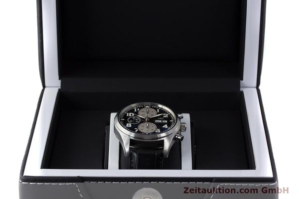 Used luxury watch IWC Fliegeruhr chronograph steel automatic Kal. 79320 Ref. 3717 LIMITED EDITION | 161759 07
