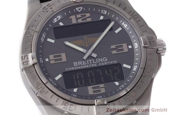 Used luxury watch Breitling Aerospace chronograph titanium quartz Kal. B79 ETA E10.451 Ref. E79362  | 161763 02