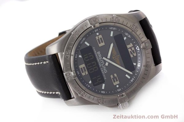 Used luxury watch Breitling Aerospace chronograph titanium quartz Kal. B79 ETA E10.451 Ref. E79362  | 161763 03