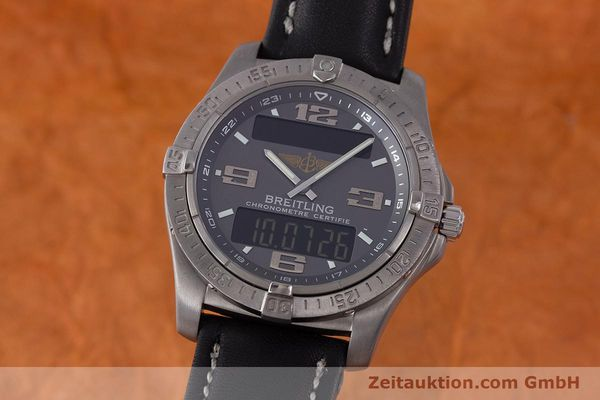 Used luxury watch Breitling Aerospace chronograph titanium quartz Kal. B79 ETA E10.451 Ref. E79362  | 161763 04