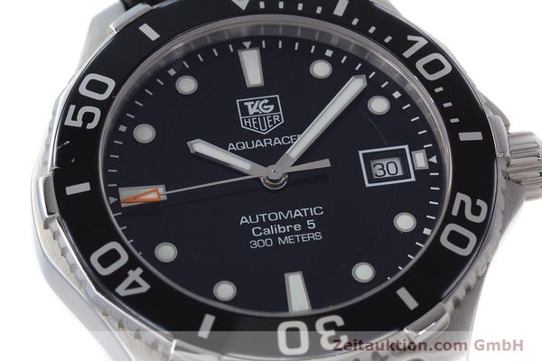 Used luxury watch Tag Heuer Aquaracer steel automatic Kal. 5 Sellita SW200-1 Ref. WAN2110  | 161764 02