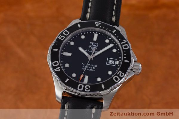 Used luxury watch Tag Heuer Aquaracer steel automatic Kal. 5 Sellita SW200-1 Ref. WAN2110  | 161764 04