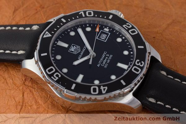 Used luxury watch Tag Heuer Aquaracer steel automatic Kal. 5 Sellita SW200-1 Ref. WAN2110  | 161764 13