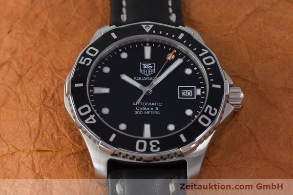 Used luxury watch Tag Heuer Aquaracer steel automatic Kal. 5 Sellita SW200-1 Ref. WAN2110  | 161764 14
