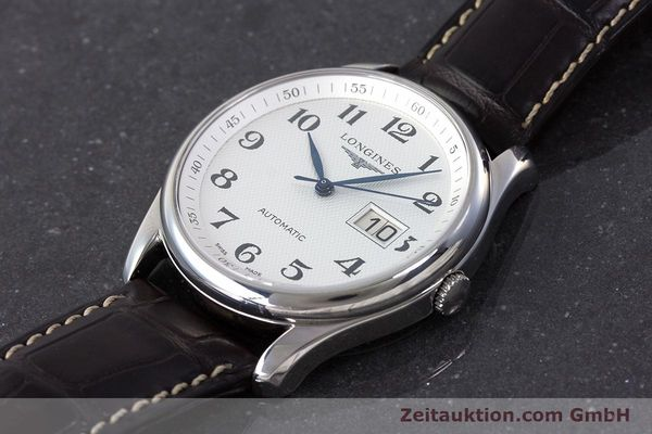 Used luxury watch Longines Master Collection steel automatic Kal. 607.2 ETA 2896 Ref. L2.648.4  | 161767 01