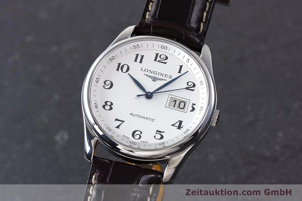 LONGINES MASTER COLLECTION AUTOMATIK HERRENUHR L2.648.4 GLASBODEN NP: 1750,- Euro [161767]