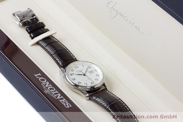 Used luxury watch Longines Master Collection steel automatic Kal. 607.2 ETA 2896 Ref. L2.648.4  | 161767 07