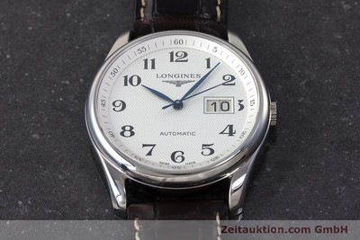 LONGINES MASTER COLLECTION STEEL AUTOMATIC KAL. 607.2 ETA 2896 LP: 1750EUR [161767]