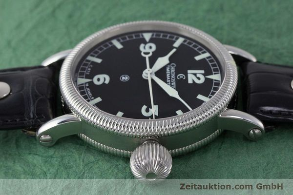 Used luxury watch Chronoswiss Timemaster steel manual winding Kal. 672 Ref. CH6233  | 161768 05