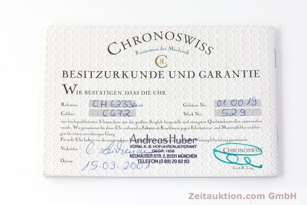 Used luxury watch Chronoswiss Timemaster steel manual winding Kal. 672 Ref. CH6233  | 161768 08