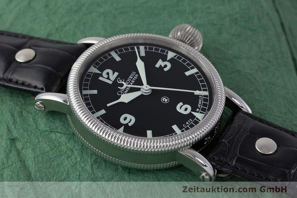 Used luxury watch Chronoswiss Timemaster steel manual winding Kal. 672 Ref. CH6233  | 161768 15