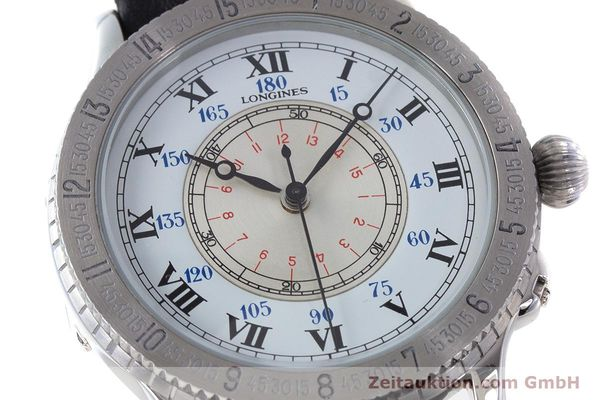 Used luxury watch Longines Lindbergh Stundenwinkel steel automatic Kal. 628.1 ETA 2892-2 Ref. 628.5240  | 161769 02