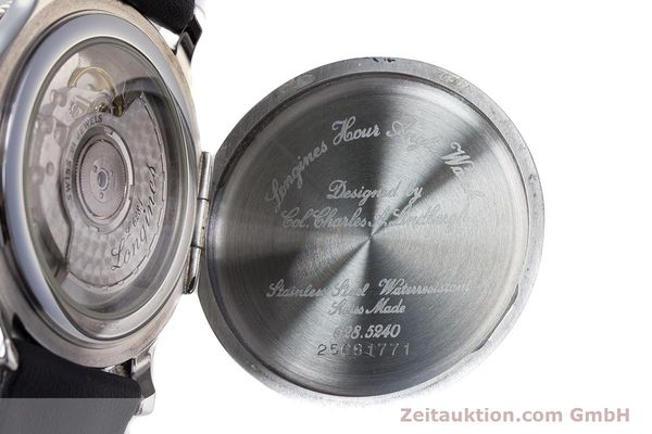 Used luxury watch Longines Lindbergh Stundenwinkel steel automatic Kal. 628.1 ETA 2892-2 Ref. 628.5240  | 161769 10