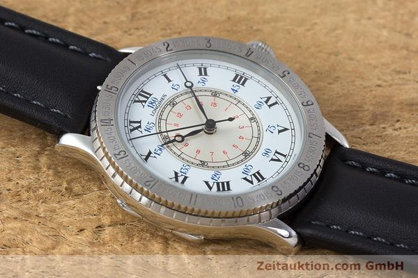 Used luxury watch Longines Lindbergh Stundenwinkel steel automatic Kal. 628.1 ETA 2892-2 Ref. 628.5240  | 161769 13