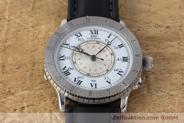 Used luxury watch Longines Lindbergh Stundenwinkel steel automatic Kal. 628.1 ETA 2892-2 Ref. 628.5240  | 161769 14