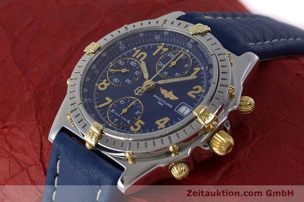 Used luxury watch Breitling Chronomat chronograph steel / gold automatic Kal. B13 ETA 7750 Ref. B13050.1  | 161771 01
