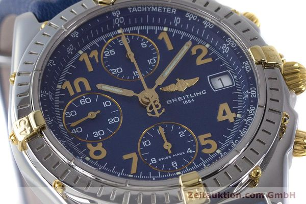 Used luxury watch Breitling Chronomat chronograph steel / gold automatic Kal. B13 ETA 7750 Ref. B13050.1  | 161771 02