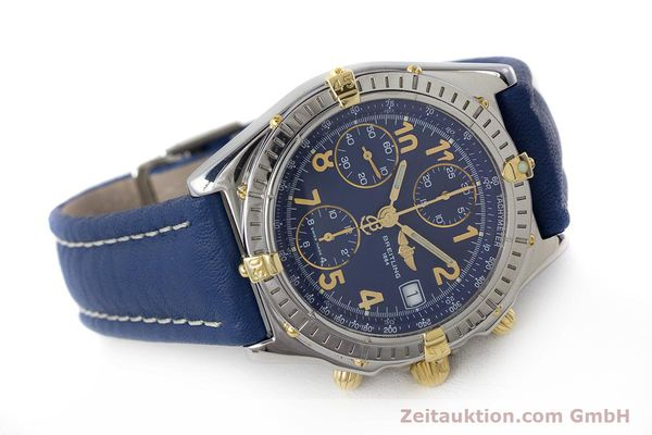 Used luxury watch Breitling Chronomat chronograph steel / gold automatic Kal. B13 ETA 7750 Ref. B13050.1  | 161771 03