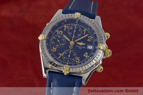 Used luxury watch Breitling Chronomat chronograph steel / gold automatic Kal. B13 ETA 7750 Ref. B13050.1  | 161771 04