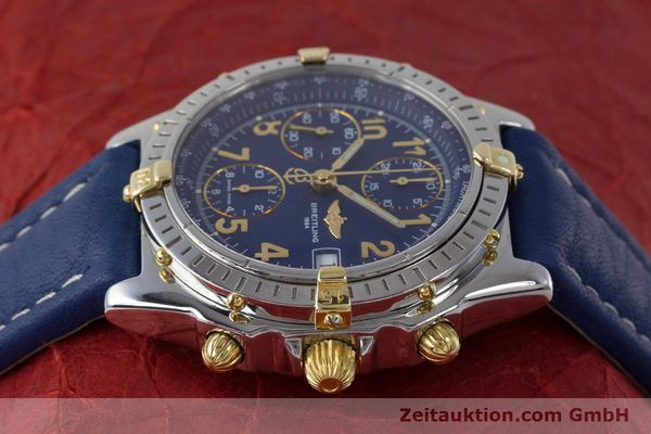 Used luxury watch Breitling Chronomat chronograph steel / gold automatic Kal. B13 ETA 7750 Ref. B13050.1  | 161771 05