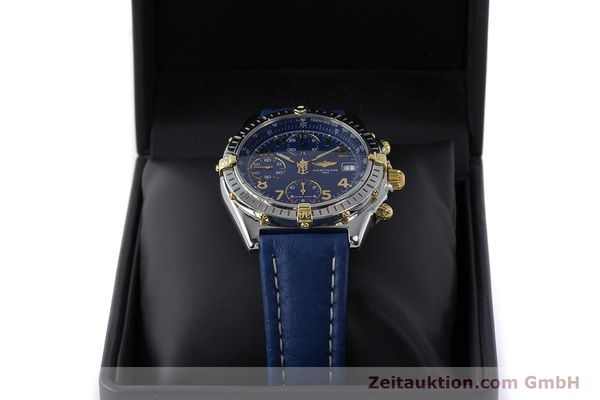 Used luxury watch Breitling Chronomat chronograph steel / gold automatic Kal. B13 ETA 7750 Ref. B13050.1  | 161771 07