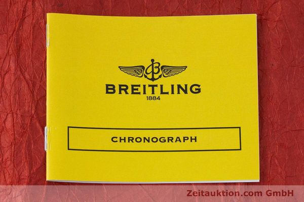 Used luxury watch Breitling Chronomat chronograph steel / gold automatic Kal. B13 ETA 7750 Ref. B13050.1  | 161771 13