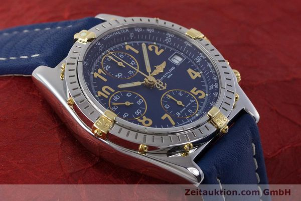 Used luxury watch Breitling Chronomat chronograph steel / gold automatic Kal. B13 ETA 7750 Ref. B13050.1  | 161771 15