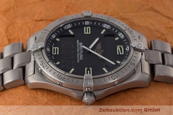 Used luxury watch Breitling Aerospace titanium quartz Kal. B65 ETA E10.391 Ref. E65062  | 161772 05