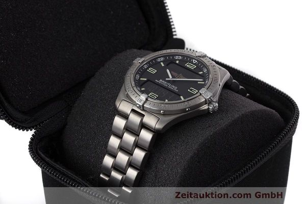 Used luxury watch Breitling Aerospace titanium quartz Kal. B65 ETA E10.391 Ref. E65062  | 161772 07