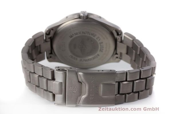 Used luxury watch Breitling Aerospace titanium quartz Kal. B65 ETA E10.391 Ref. E65062  | 161772 11