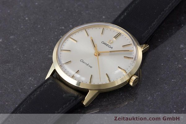 Used luxury watch Omega * 14 ct yellow gold manual winding Kal. 601 Ref. 131.041  | 161778 01