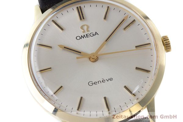 Used luxury watch Omega * 14 ct yellow gold manual winding Kal. 601 Ref. 131.041  | 161778 02
