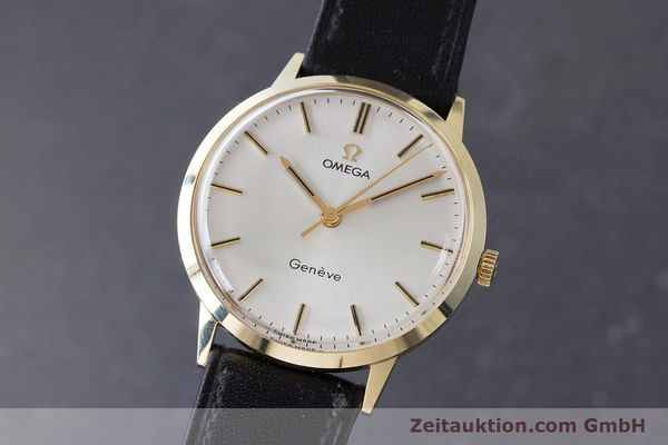 Used luxury watch Omega * 14 ct yellow gold manual winding Kal. 601 Ref. 131.041  | 161778 04