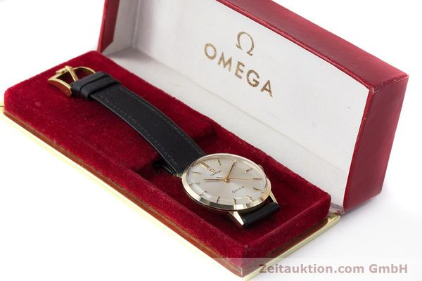 Used luxury watch Omega * 14 ct yellow gold manual winding Kal. 601 Ref. 131.041  | 161778 07