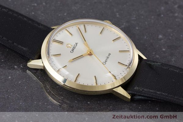 Used luxury watch Omega * 14 ct yellow gold manual winding Kal. 601 Ref. 131.041  | 161778 14