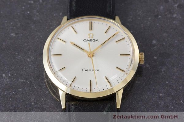 Used luxury watch Omega * 14 ct yellow gold manual winding Kal. 601 Ref. 131.041  | 161778 15