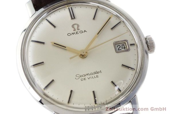 Used luxury watch Omega Seamaster steel manual winding Kal. 611 Ref. 136.020 VINTAGE  | 161780 02