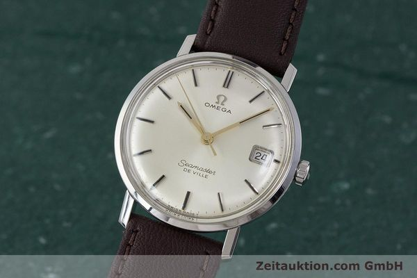 Used luxury watch Omega Seamaster steel manual winding Kal. 611 Ref. 136.020 VINTAGE  | 161780 04