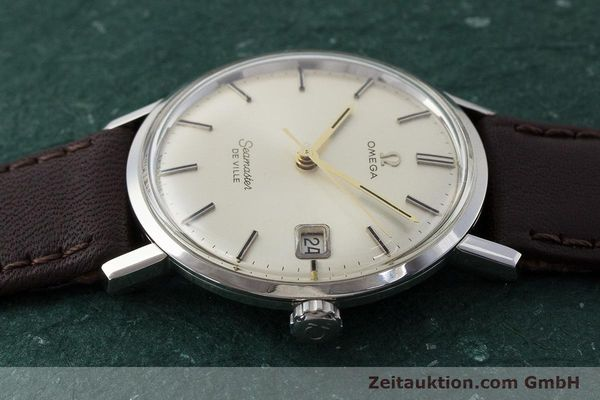 Used luxury watch Omega Seamaster steel manual winding Kal. 611 Ref. 136.020 VINTAGE  | 161780 05