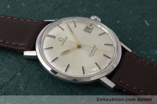 Used luxury watch Omega Seamaster steel manual winding Kal. 611 Ref. 136.020 VINTAGE  | 161780 14