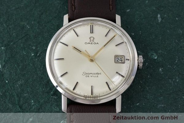 Used luxury watch Omega Seamaster steel manual winding Kal. 611 Ref. 136.020 VINTAGE  | 161780 15