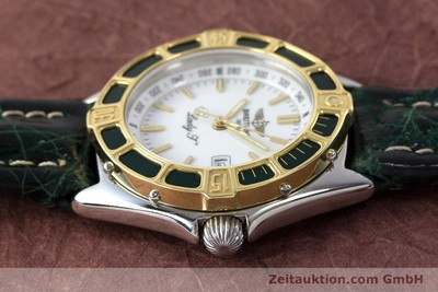 BREITLING LADY J CLASS STAHL / GOLD DAMENUHR TOP D52065 VP: 2290,- EURO [161787]