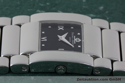 BAUME & MERCIER CATWALK STEEL QUARTZ KAL. 5057 LP: 1900EUR [161788]