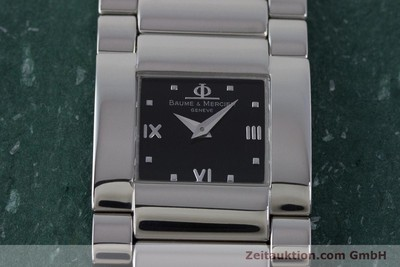 BAUME & MERCIER LADY CATWALK EDELSTAHL DAMENUHR MV045197 VP: 1900,- Euro [161788]