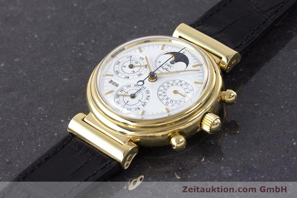 Used luxury watch IWC Da Vinci chronograph 18 ct gold automatic Kal. 79061 Ref. 3750  | 161789 01
