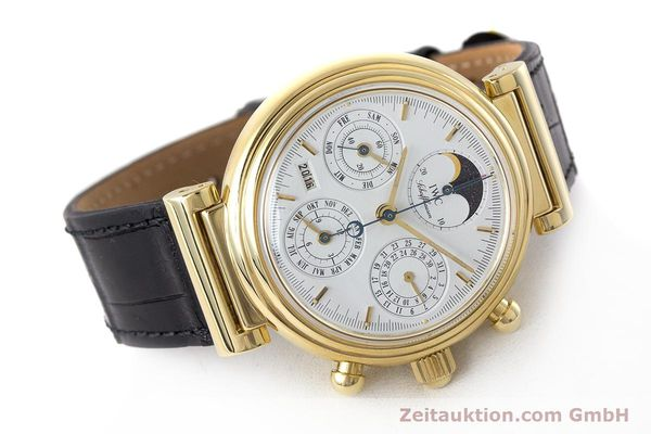 Used luxury watch IWC Da Vinci chronograph 18 ct gold automatic Kal. 79061 Ref. 3750  | 161789 03