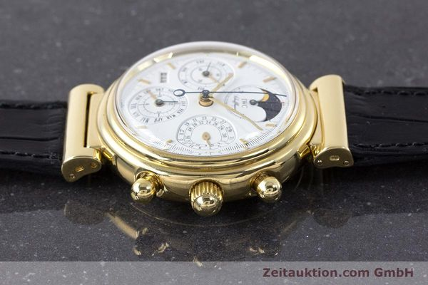 Used luxury watch IWC Da Vinci chronograph 18 ct gold automatic Kal. 79061 Ref. 3750  | 161789 05