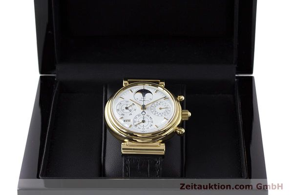 Used luxury watch IWC Da Vinci chronograph 18 ct gold automatic Kal. 79061 Ref. 3750  | 161789 07