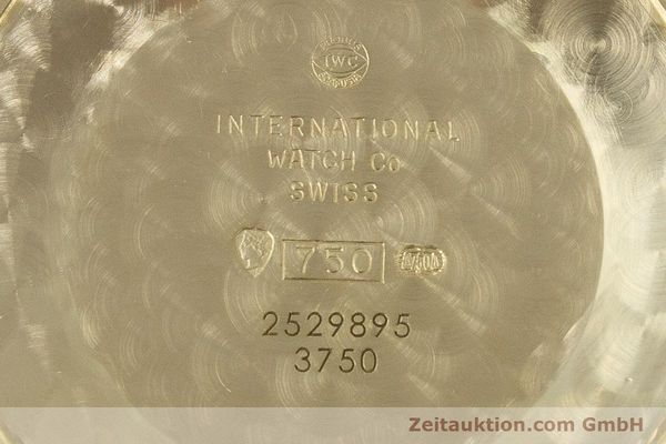 Used luxury watch IWC Da Vinci chronograph 18 ct gold automatic Kal. 79061 Ref. 3750  | 161789 09